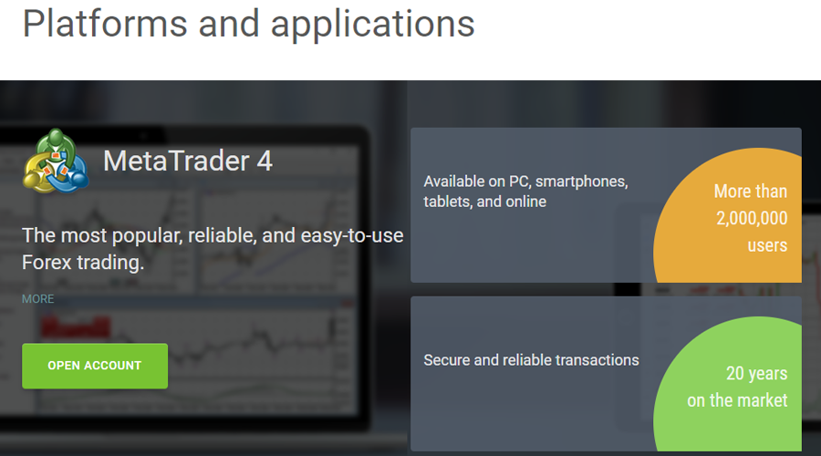 Alpari Trading Platforms and applications