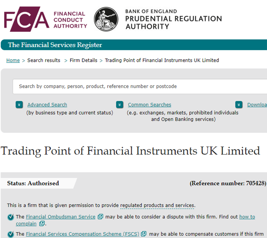 XM Forex is regulated with FCA(UK)