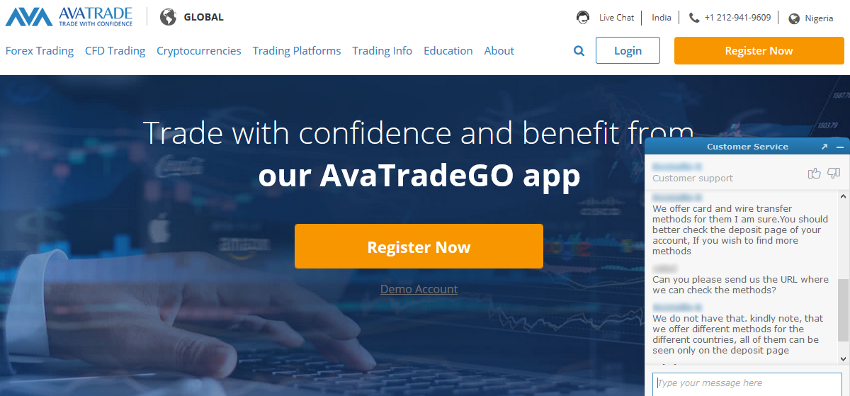AvaTrade Customer Support